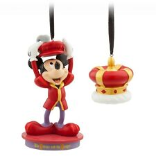 Disney Mickey Mouse Through the Years Ornament October 2018 Prince & Pauper NIB!