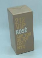 80ml Carolina Herrera 212 ROSE NYC Eau de Parfum for Women Perfume Mujer 2.7 oz