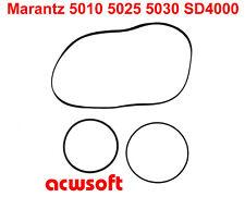 Riemen Belts for Marantz 5010 5025 5030 SD4000 5010B 5025B 5030B