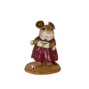 Wee Forest Folk M-656 Christmas Cracker! - Maroon Dress