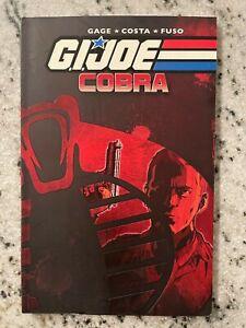 GI Joe Cobra IDW Graphic Novel Comic Book Snake Eyes Storm Shadow Duke J590