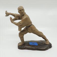 "Pottery Kung Fu Martial Arts Statue A 9 x 11 x 4"""