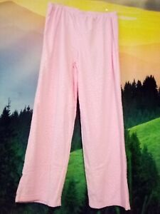 Victoria's Secret PINK Fleece Pajama Pants Women's Size Large