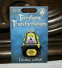 Disney Terrifying Transformations Evil Queen & Old Hag Pin Snow White Pin