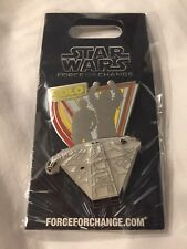 Star Wars SOLO A STAR WARS STORY FORCE FOR CHANGE LE 3000 PIN NEW In Package