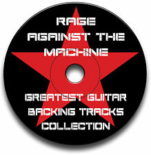 RAGE AGAINST THE MACHINE STYLE ROCK GUITAR BACKING TRACKS AUDIO CD JAM TRAXS