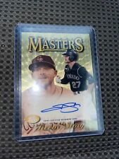 Masters Tops finest the holy grail Trevor story super factor 2021 auto