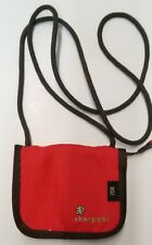 Sherpani Zoe Wallet Purse Bag Zip 4.5 x 6 Crossbody Red ☆ Excellent Condition
