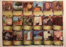 Naruto Shippuden Card Game Part 7 Reg Set 36/36