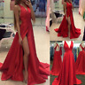 Sexy Women Evening Cocktail Dress Backless Ball Gown Wedding Bride Party Dresses