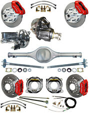 NEW SUSPENSION & WILWOOD BRAKE SET,CURRIE REAR END,POSI-TRAC GEAR,BOOSTER,677012