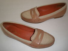 COLE HAAN NIKE AIR  LEATHER FLATS SIZE US 6 RARE HOT UNIQUE