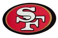 San Francisco 49 ERS 3D Fan Foam Logo Sign Picture, NFL Football, Relief