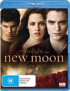 The Twilight Saga : New Moon : NEW BLU RAY