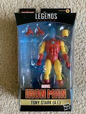 Marvel Legends Series Iron Man Tony Stark (A.I.) Shang-Chi NO BAF Mr. Hyde