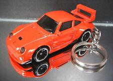 Red Porsche 993 GT2 Key Chain Ring Diecast Fob