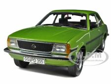 OPEL ASCONA B SR GREEN / LIMONENGRUEN METALLIC 1/18 BY SUNSTAR 5385
