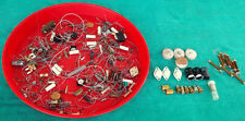Vintage Lot Of Unused Radio Parts Potentiometers Resistors Capacitors & More