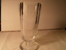 """Signed KOSTA crystal Vase Butterfly and Flowers 6"""" height BEAUTIFUL"""