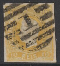 Portugal - 1866/7, 10r Orange Jaune - 4 Marges - D'Occasion - Sg 37