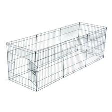 """24""""Tall Dog Playpen Crate Fence Pet Play Pen Exercise Cage -8 Panel Yard Pens"""