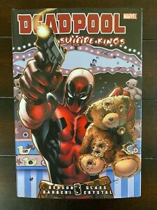 Deadpool: Suicide Kings Hard Cover Marvel Trade CL75-125
