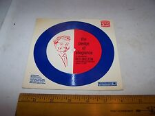 1969 BURGER KING Auravision 33 1/3 Record RED SKELTON The Pledge of Allegiance
