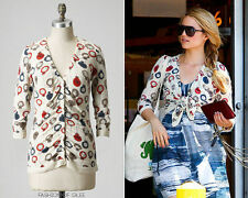 """XS Anthropologie  Celeb """"Tick Tock Cardigan"""" Watch Sweater SOLD OUT"""