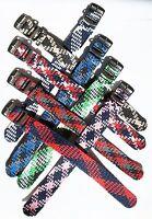 Woven perlon tropic pull through nylon watch strap Free pins & tool #2