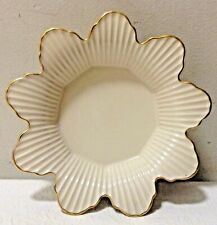 Lenox Meridian Collection Flower Bowl with Gold trim