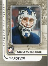 2010/11 ITG Between the Pipes #159 FELIX POTVIN (Toronto Maple Leafs)
