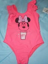 Baby Gap Nwt Girl 18 24 months 1-piece Minnie Mouse pink bathing suit swimwear