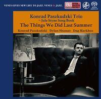Konrad Paszkudzki Trio The Things We Did Last Summer Japan Venus Records SACD