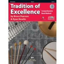 Tradition of Excellence Percussion Book 1 With DVD W61pr
