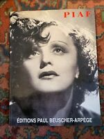 THE EDITH PIAF SONG COLLECTION VOCAL SHEET MUSIC BOOK