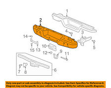 Hummer GM OEM 06-10 H3 Rear-Bumper 15850414