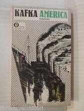 AMERICA Franz Kafka Alberto Spaini Roberto Fertonani Mondadori Gli Oscar 1972 di