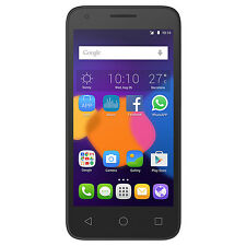 "Alcatel Pixi 3 5017A 4G Black 4.5"" Screen 5.0MP Camera Android Lollipop Unlocked"