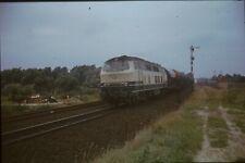 Originaldia DB 218 323 Lübeck 18.8.1981