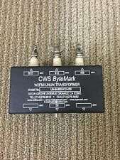 Beverage Antenna Multi-match Unbalance to Unbalance (UNUN) Transformer. W2FMI
