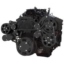 Black Serpentine System for LT1 Generation II - AC, Power Steering & Alternator