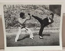 Bruce Lee  5  photos  on the set of Enter the Dragon