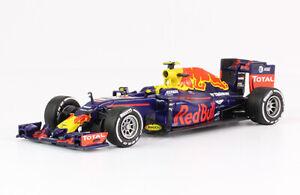 Red Bull RB12 2016 Max Verstappen Rare Formula 1 F1 Diecast Car 1:43 + Magazine