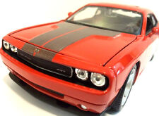 MAISTO 2008 DODGE CHALLENGER SRT8 6.1 HEMI 1/24 DIECAST MODEL CAR ORANGE