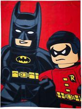 Lego DC KAPOW BATMAN ROBIN Panel Manta Polar Niños Chicos superhéroes Tirar