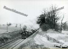 altes Baryt-Foto SNCF 141 R xxx Altkirch 1967 - ca 9x14