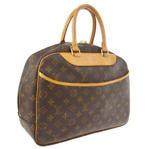 LOUIS VUITTON DEAUVILLE BUSINESS HAND BAG MONOGRAM CANVAS M47270 AK31391e
