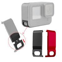 Für Gopro Hero 9 Kamera Abnehmbarer Batteriefachdeckel Akkuabdeckung Aluminum