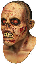 Halloween RAVAGED ZOMBIE LURKER Adult Latex Deluxe Mask Ghoulish Productions