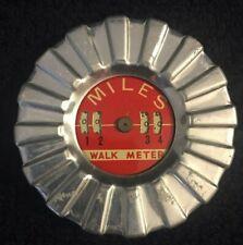 Vintage Miles Walk-A-Matic Manual Pedometer